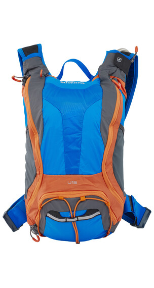 Shimano Unzen II Backpack 15 L lightning blau/orange